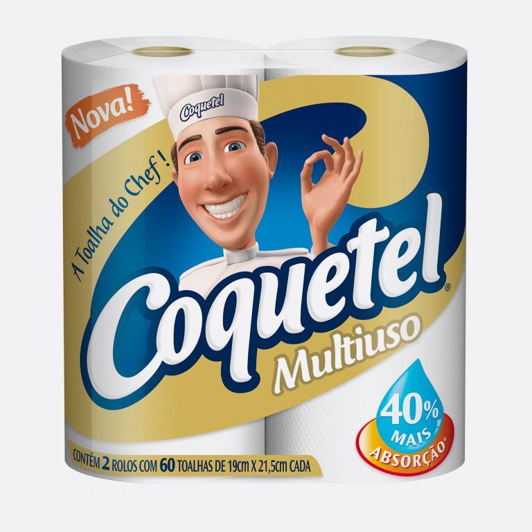 Desenvolvimento do mockup digital, packshot da embalagem do Papel Toalha Coquetel para o Grupo Carta Fabril, indústria de produtos para higiene pessoal.