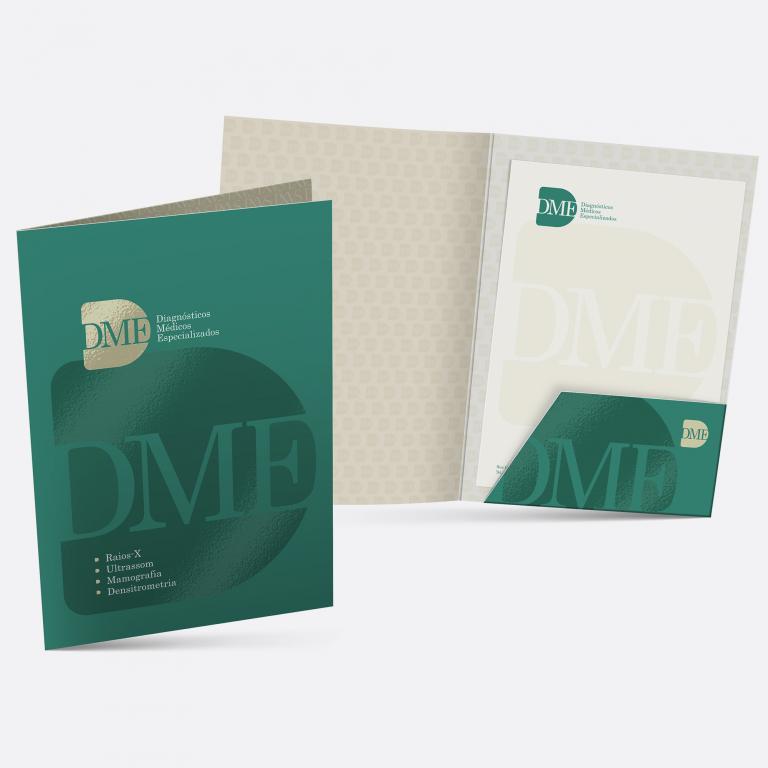 Pasta para documentos DME Exames Diagnósticos